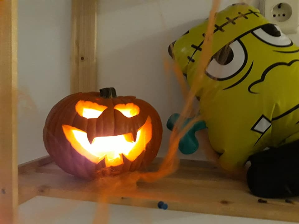 calabaza terror halloween
