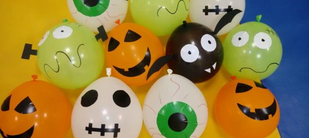 Globos niños Halloween